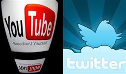 تويتر ويوتيوب