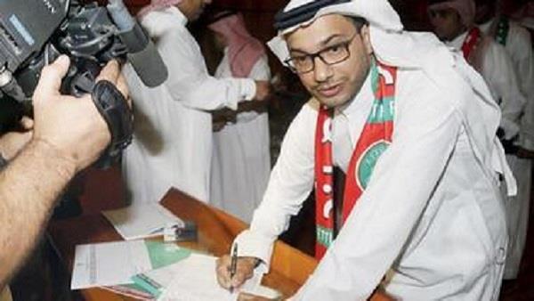 خالد الدبل رئيساً لنادي الاتفاق بالتزكية - صور