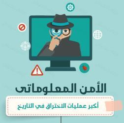 توبك إنفوجرافيك الأمن المعلوماتي