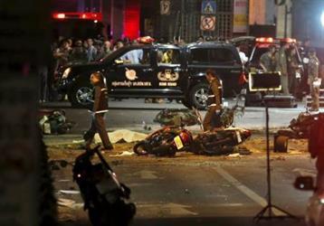 ارتفاع عدد قتلى انفجار في تايلاند إلى 27 بينهم عدة أجانب
