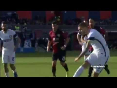كالياري ( 1 - 5 ) انتر ميلان الدوري الايطالي