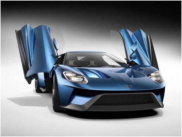 """سيارة """"فورد جي تي"""" """"Ford GT"""" الجديدة، وتأتي مزودة بمحرك """"VS"""" سعته 3,5 لتر، يوّلد قوة أكثر من 600 حصان."""