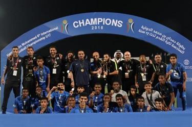 الهلال وروما ودورتموند في بطولة حمدان الدولية