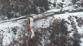 مقتل شخصين في انحراف قطار عن مساره بجنوب فرنسا
