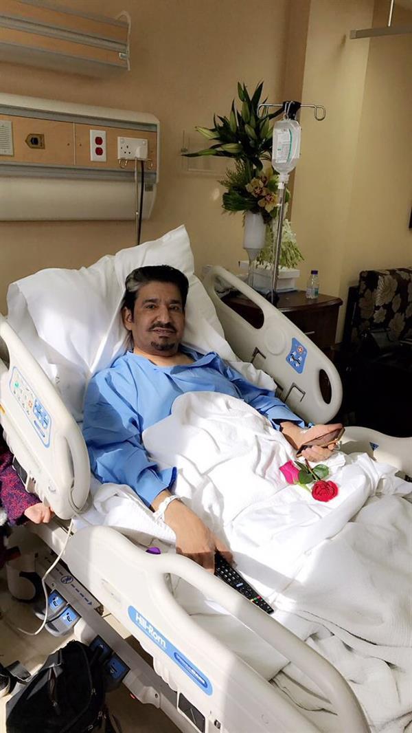 الفنان عبدالله السدحان يجري عملية جراحية ناجحة...