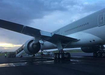 بالصور.. إصابة عدد من ركاب طائرة قطرية إثر هبوطها اضطراريا في جزيرة برتغالية