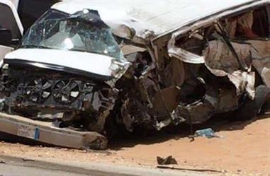 صورة مؤثرة لبقايا أغراض المعلمات المتوفيات في حادث طريق الخرما ـ عنيزة