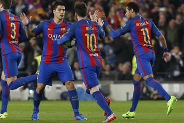 برشلونة يحقق المعجزة بسداسية في سان جيرمان
