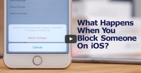 block number on iphone