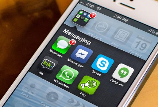messaging apps logo