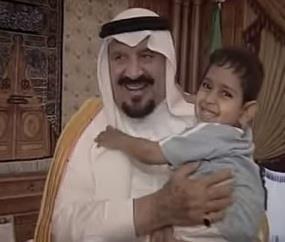عبدالله عادل الجريّد رفقة  الامير الراحل سلطان بن عبدالعزيز