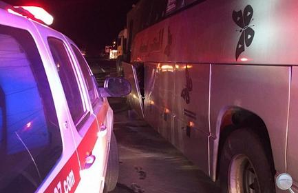 إصابة 32 معتمراً على طريق المدينة - مكة