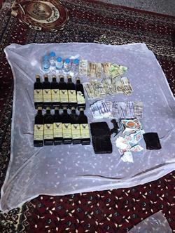 دوريات المجاهدين في جازان تضبط كميات كبيرة من المخدرات والمسكرات
