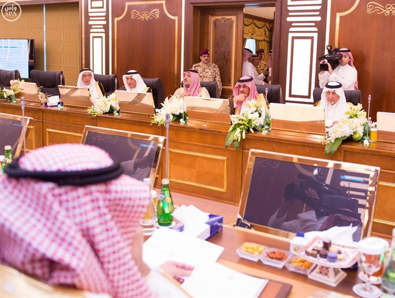 ولي العهد يرأس اجتماع لجنة الحج العليا
