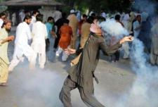 تظاهرات باكستان