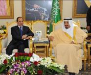 خادم الحرمين الشريفين والرئيس المصري