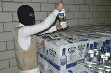ضبط 16159 زجاجة من الخمور المهربة بالرياض