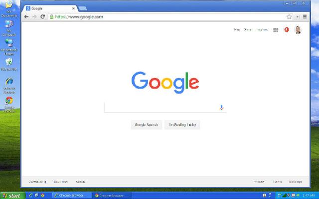 Chrome  end support Windows XP