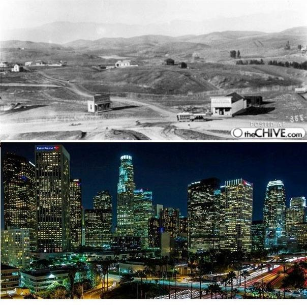 صور لمدن شهيرة عالميا بين الماضي والحاضر