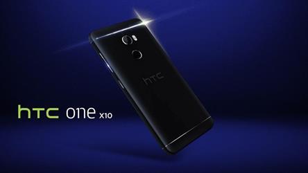إتش تي سي تعلن رسميا عن هاتفها htc one x10 مع بطارية بسعة 4,000 ميللي أمبير/ ساعة