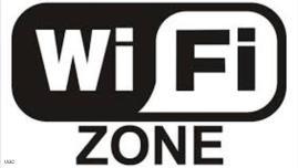 إشارة لتوفر خدمة واي فاي بالمنطقة