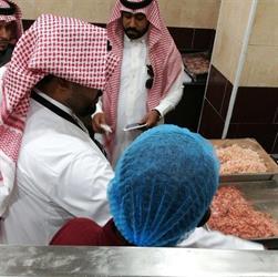 """""""التجارة"""": ضبط 155 كيلو لحوم فاسدة في تبوك و300 كرتون دجاج منتهي الصلاحية في أبها (صور)"""