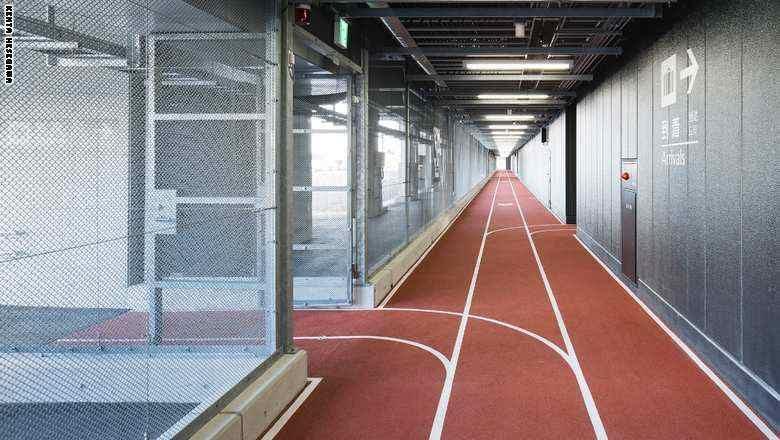 اليابان تحول ممر أحد مطاراتها إلى مضمار للركض