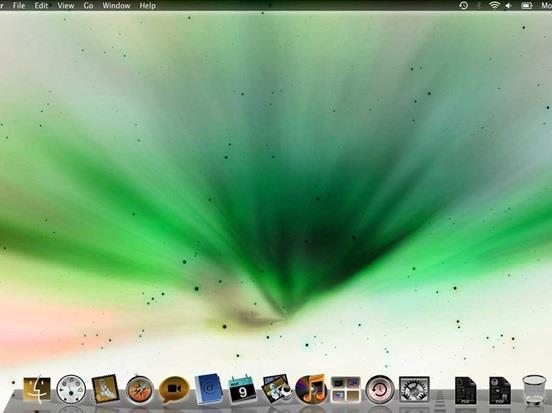"""ولمستخدمي نظام """" ماك أو أس أكس لايون""""، يمكن أيضا تغيير ألوان خلفية الشاشة  بالضغط على  Command + Option + Control + 8،  وقد صُ"""