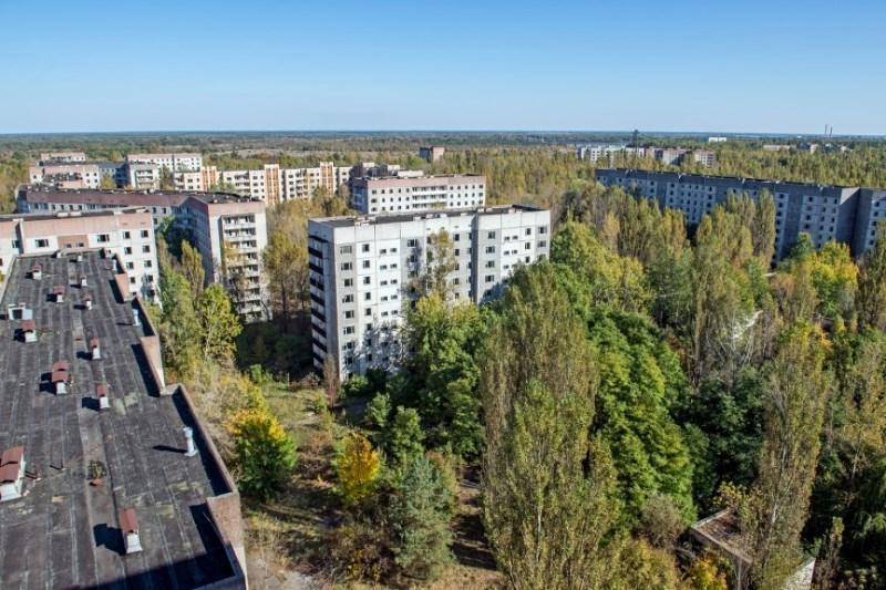"""مدينة """"تشيرنوبيل""""، أوكرانيا"""