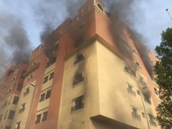 """""""الدفاع المدني"""": وفاة وإصابة حريق"""