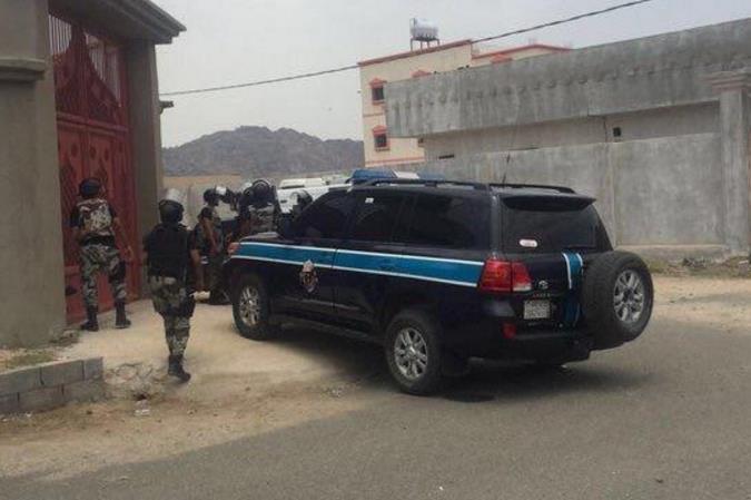 إحباط عملية إرهابية استهدفت مخفر شرطة حداد ببني مالك في محافظة الطائف
