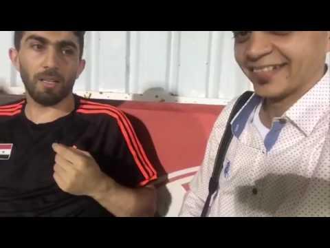 حديث فراس الخطيب عن عودة النجم جهاد الحسين للمنتخب السوري قبل مباراة قطر وايران بتصفيات كاس العالم