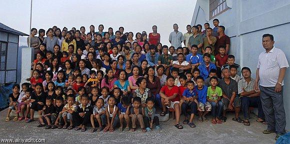 أكبر عائلة بالعالم مكونة من 160 فرد وتعيش بالهند