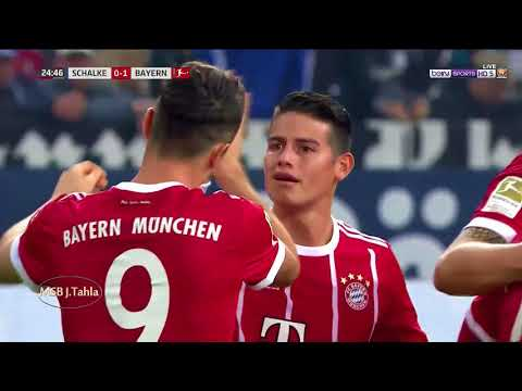 شالكه ( 0 - 3 ) بايرن ميونخ الدوري الالماني