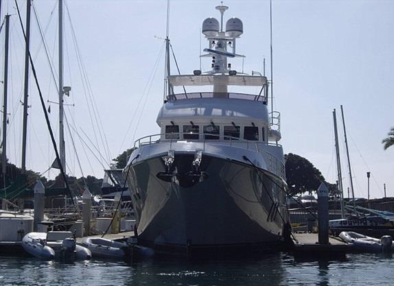 """يخت""""Nordhaven's N76 Spirit of Ulysses"""""""
