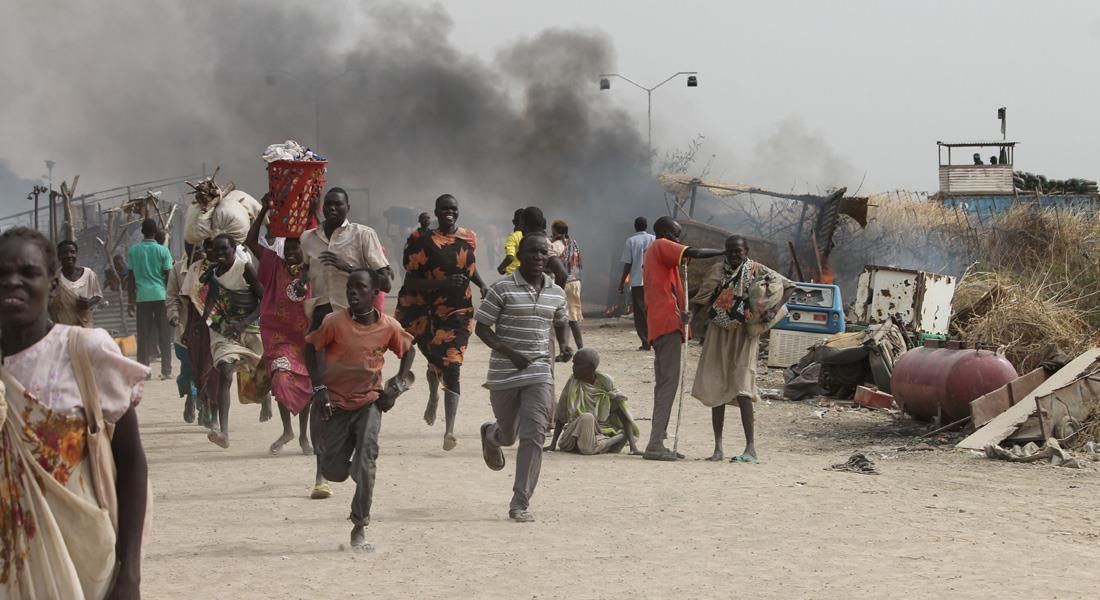 لاجئون من جنوب السودان يحتجزون 13 من أفراد بعثة الأمم المتحدة رهائن
