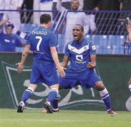 كروزيرو البرازيلي يجمع لاعبي الهلال