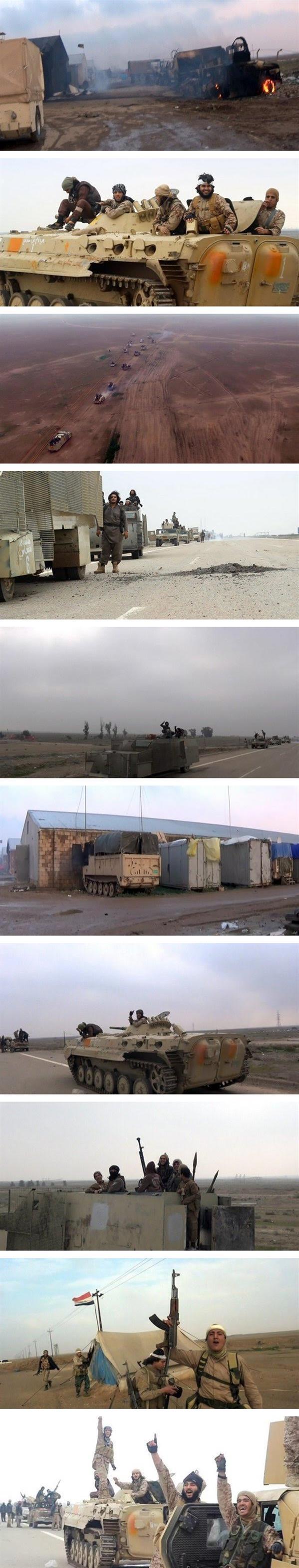 داعش يقتحم معسكراً للجيش العراقي ويستولى على معدات ضخمة
