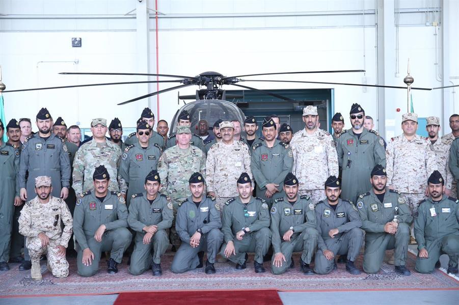 شاهد.. طائرات الاستطلاع المسلح في اللواء الأول تصل إلى الحرس الوطني