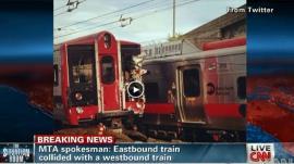 من حادث تصام قطارين قبل 10 أيام بولاية كونكتيكت