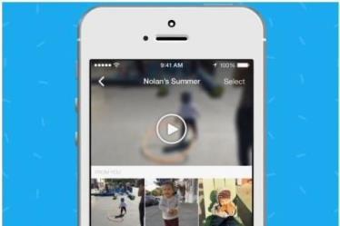 facebook moments video