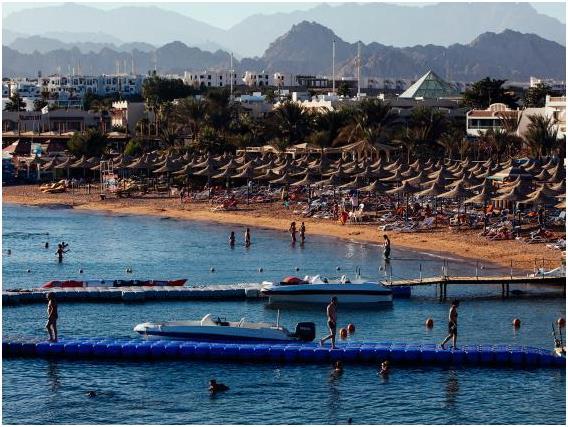 شرم الشيخ في مصر، وتبلغ تكلفة الفرد في المتوسط خلال يوم: 111,44 دولار.