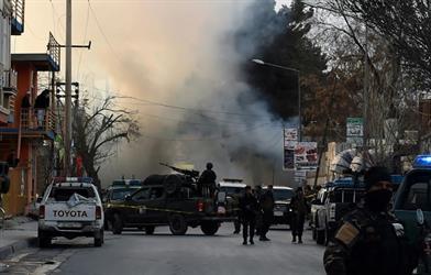 قتيل على الاقل و19 جريحا في انفجار استهدف حافلة في وسط كابول