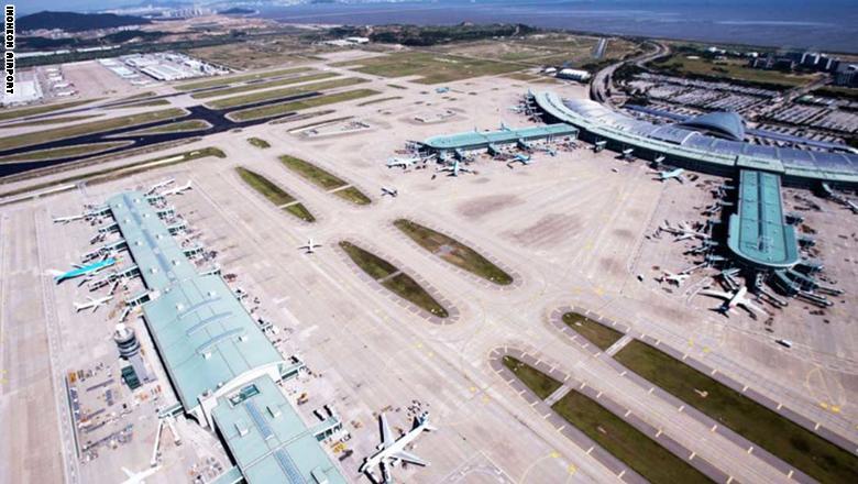 3. مطار إنتشون الدولي في سيول، كوريا الجنوبية