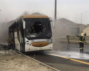 أخبار 24   شاهد.. اشتعال النيران في باص حجاج بمكة دون وقوع إصابات