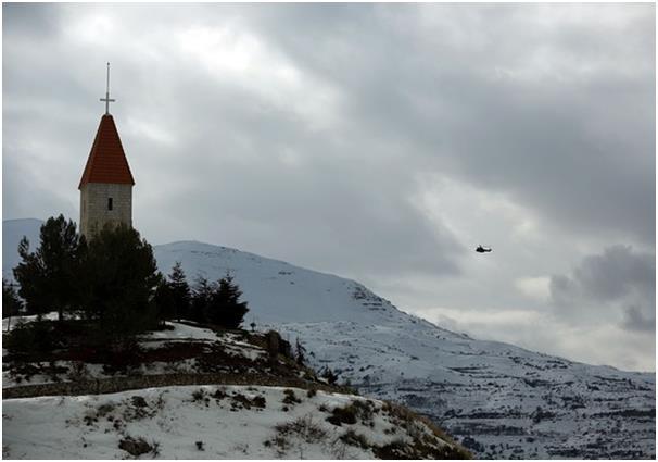 وادي قاديشا شمال لبنان، ويضم المكان العديد من الأديرة والصوامع، التي يرجع بعضها إلى الأيام الأولى للمسيحية، كما أن غابة الأرز
