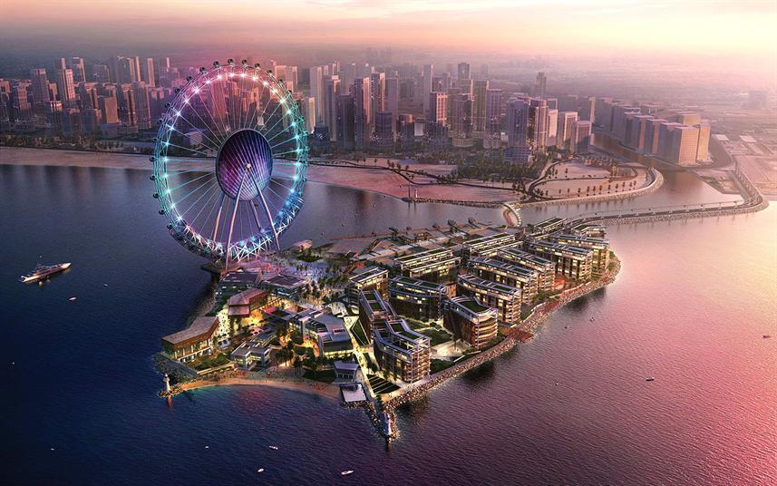 """جزيرة """"بلوواترز""""، دبي"""