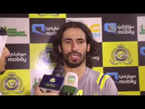 القائد حسين عبدالغني يتحدث بعد أول تدريبات النصر هذا الموسم