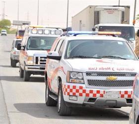 القصيم: 1203 حوادث في 20 يوماً الماضية من رمضان