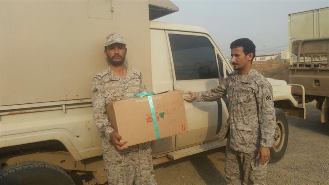 وجبات الطعام المقدمة للجنود المرابطين